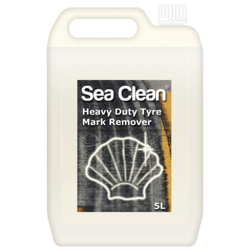 Sea Clean Heavy Duty Rubber Tyre Mark Remover (Various Sizes)