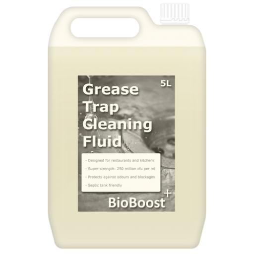 BioBoost Grease Trap Cleaner: Enzyme Cleaning Fluid (Various Sizes)