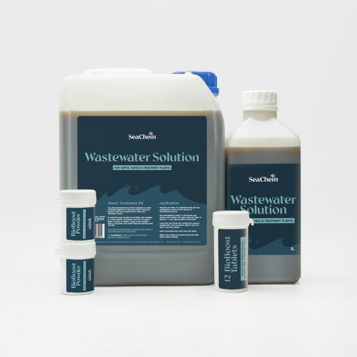 Septic Tank Complete Care Kit: Shock Treatment + 12 Month Aftercare