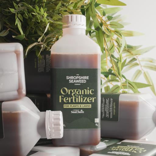 Premium Organic Liquid Seaweed Fertilizer (Various Sizes)